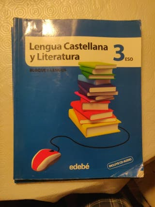 Libros de texto: Lengua Castellana 3 ESO