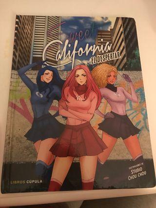 Libro sweet California el despertar