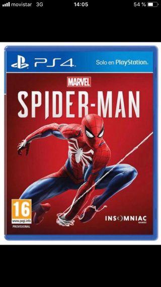 Spiderman para PS4