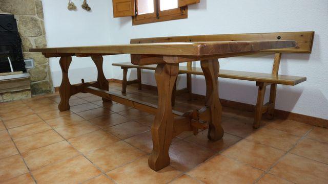 Mesa comedor pino macizo de segunda mano por 500 € en Miranda de ...