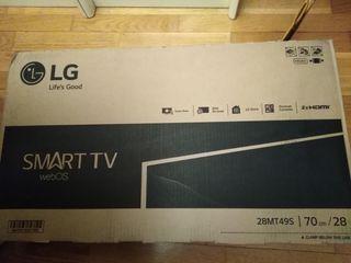 "Tv lg 28"" smart tv"