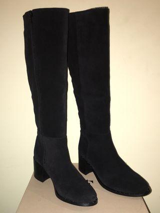 Botas de piel NUEVAS negras talla 38 marca Fosco