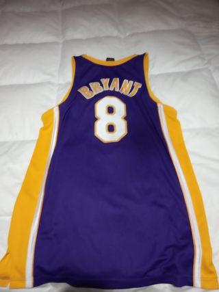 camiseta oficial Lakers reebok.