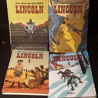 Comic Lincoln completa. 4 tomos