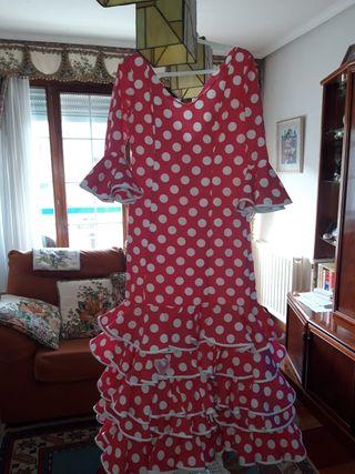 vestido de sevillana talla 44