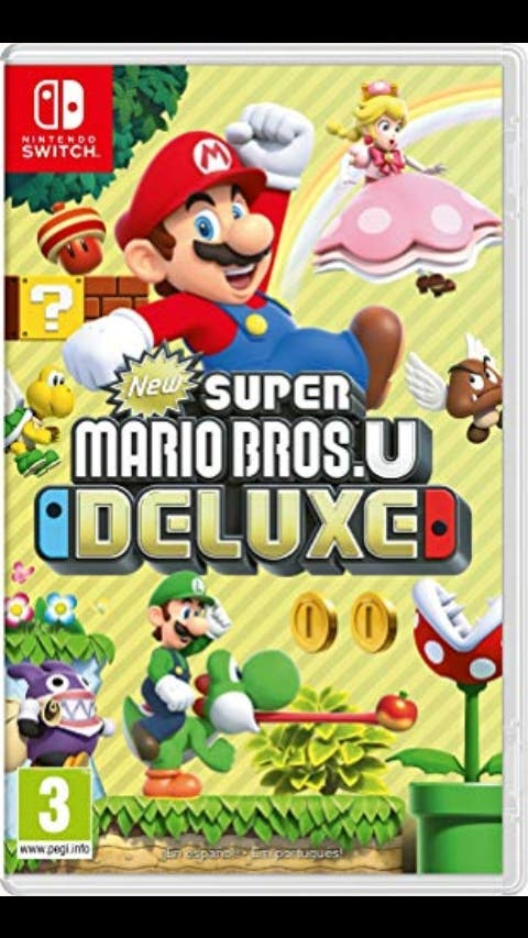 super Mario Bros U Deluxe , Nintendo switch
