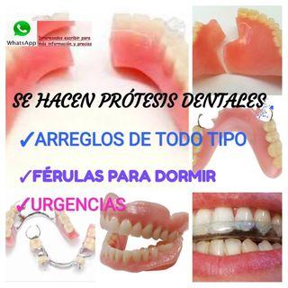 Prótesis Dentales y reparaciones