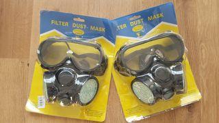 2 Máscaras antigas para disfraz