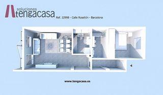 Piso en venta en La Nova Esquerra de l'Eixample en Barcelona