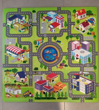 puzzle para suelo