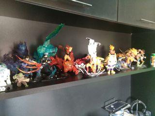 Figuras anime videojuegos series muñecos