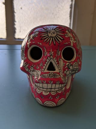Mexican traditional skull