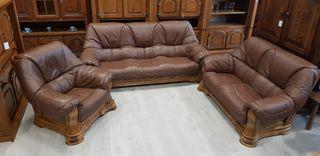 Sofas de Piel Rusticos