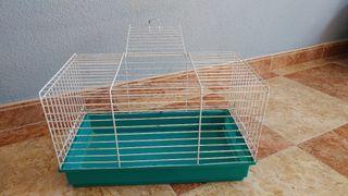 Jaula grande para roedores pequeños.