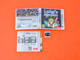 Luigi's Mansion / Nintendo 3DS