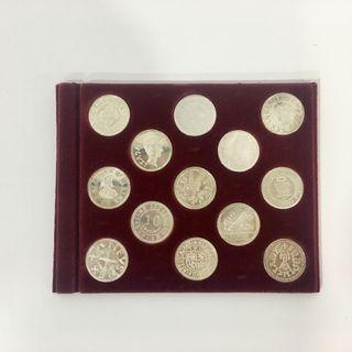 Arras monedas antiguas gallegas plata