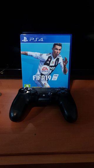 FIFA 19 + mando PS4