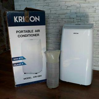 Aire acondicionado, calefactor y deshumidificador.