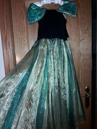 Disfraz princesa Ana de lujo