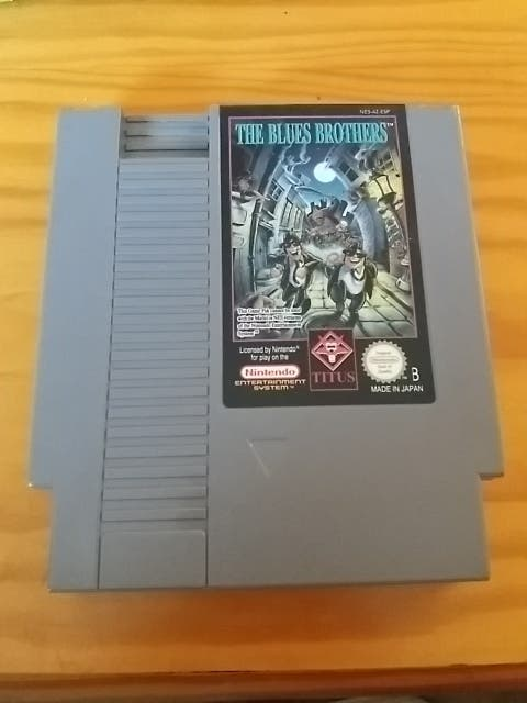 THE BLUES BROTHERS NINTENDO NESS