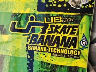 Skate Banana Lib Tech + Burton Mission