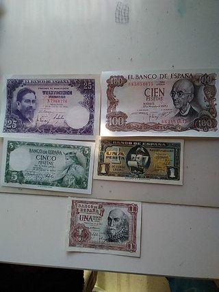 colección de pesetas