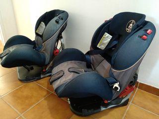 silla bebé y niño para coche