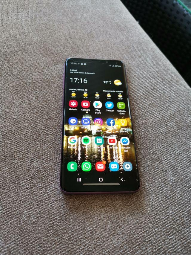 Samsung S9plus mas funda regalo