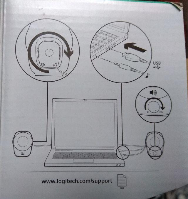 Altavoces para ordenador.