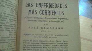 Enfermedades corrientes 1900