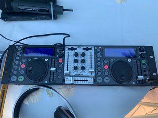 Disco móvil - equipo de música