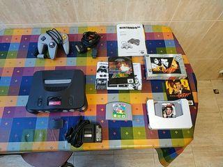 Vendo Nintendo 64 y juegos (originales)