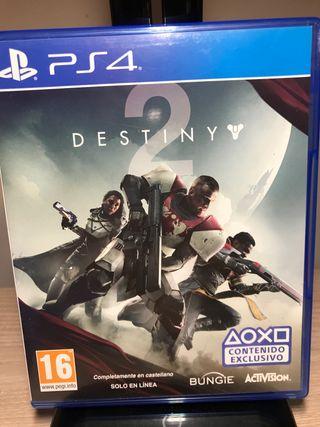 Destiny 2 juego ps4