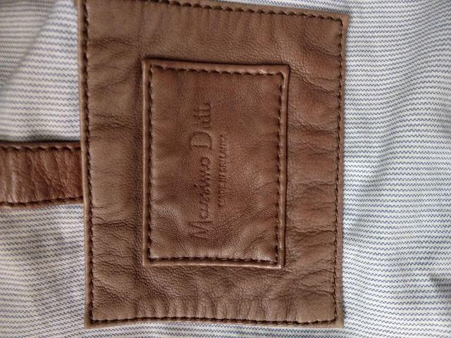 chaqueta de piel Massimo Dutti