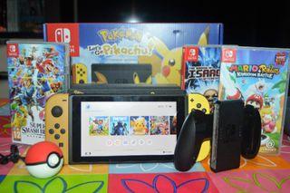 Nintendo Switch Ed Pikachu