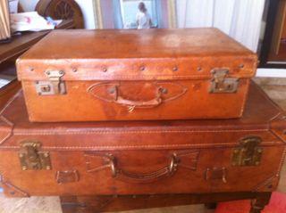 Dos maletas vintage