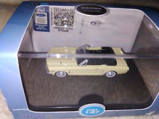 maqueta ford mustang cabriolet
