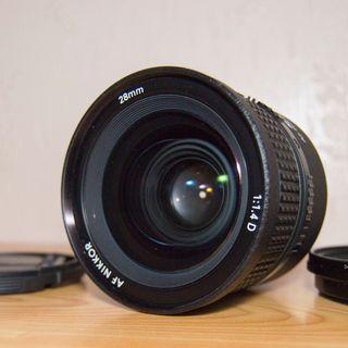Objetivo Nikon 28mm 1.4D Aespherical