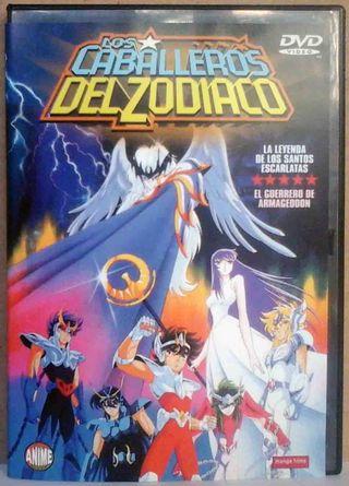 DVD: Anime. Los Caballeros del Zodíaco.