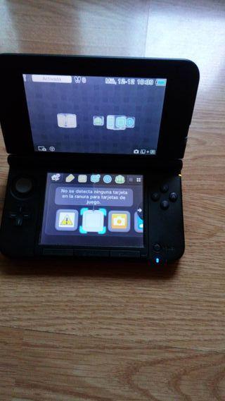Nintendo 3ds xl con 2 juegos de pokemon