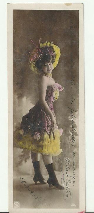 Postal, Vintage, 1906