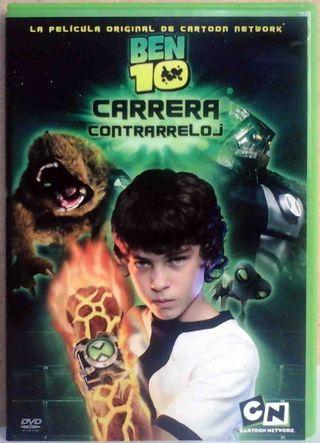DVD: BEN 10 - Carrera contrarreloj