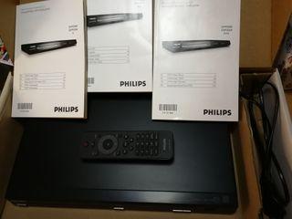 Reproductor de DVD y CD con USB