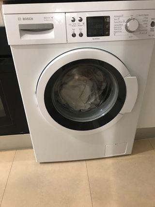 Lavadora con 1 año de uso