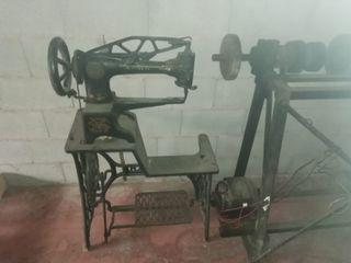 máquina de coser zapatos y máquina de finishaje