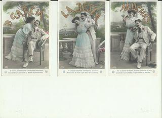 Postales vintage, Felicidades