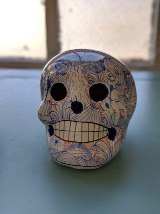 Calavera artesanal mexicana