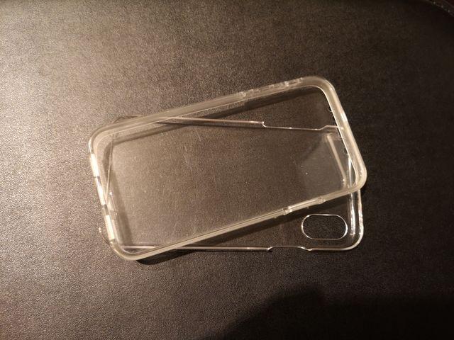 2 carcasas para iphone x, xs