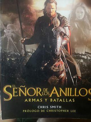 el señor de los anillos. armas y batallas.