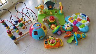lote de 9 juguetes de bebé